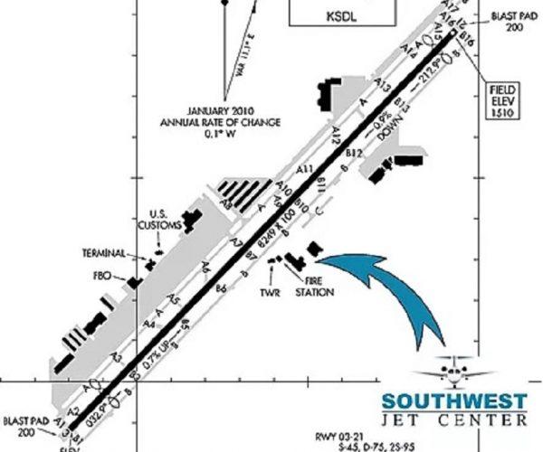 where-is-southwest-jet-center